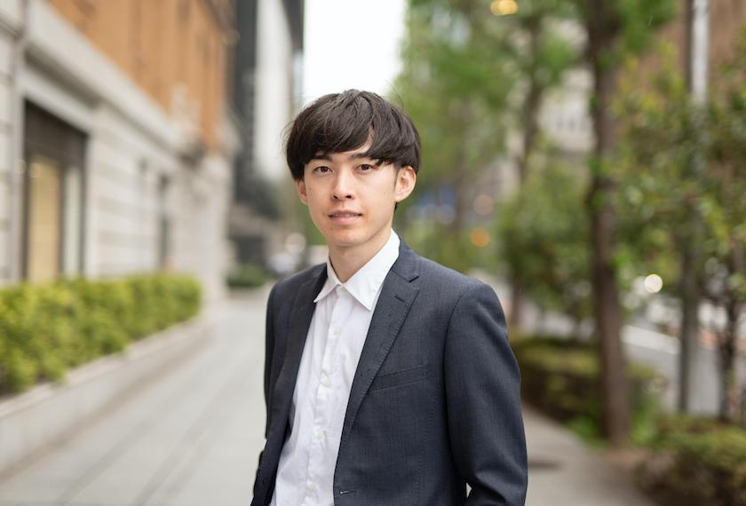若いビジネスマンの写真
