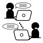 WEB会議のイラスト